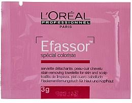 Toallita removedora de color, 36x3g - L'Oreal Professionnel Efassor — imagen N2