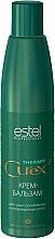 Perfumería y cosmética Crema bálsamo con vitamina E, betaína y aceite de jojoba - Estel Professional Curex Therapy Cream-Balsam