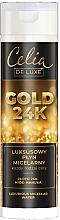 Perfumería y cosmética Agua micelar con oro de 24K y miel de manuka para todo tipo de piel - Celia De Luxe Gold 24k