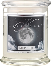 Perfumería y cosmética Vela en tarro con aroma a vetiver & ámbar - Kringle Candle Midnight
