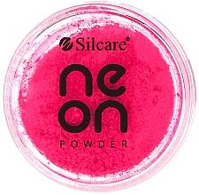 Perfumería y cosmética Polvo para uñas - Silcare Neon Powder