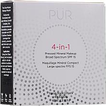 Perfumería y cosmética Base de maquillaje mineral en polvo prensado de cobertura media a completa 4 en 1, SPF 15 - Pur 4-In-1 Pressed Mineral Makeup SPF15