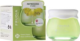 Perfumería y cosmética Crema equilibrante reguladora de sebo a base de 81% de extracto de uva - Frudia Pore Control Green Grape Cream