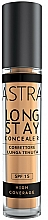 Perfumería y cosmética Corrector de maquillaje de alta cobertura, SPF15 - Astra Make-Up Long Stay Concealer SPF15