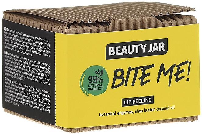 Exfoliante labial con aceite de coco y manteca de karité - Beauty Jar Bete Me Lip Peeling