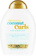 Perfumería y cosmética Champú con aceite de coco & miel dulce - OGX Coconut Curls Shampoo