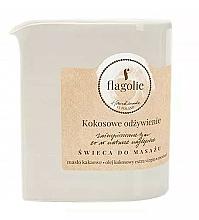 Perfumería y cosmética Vela de masaje con coco - Flagolie Coconut Nutrition Massage Candle