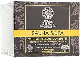 Perfumería y cosmética Manteca natural para pies con extracto de pino de Siberia - Natura Siberica