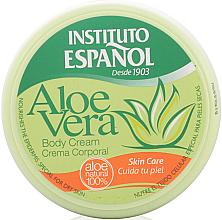 Perfumería y cosmética Crema corporal con extracto de aloe vera - Instituto Español Aloe Vera Body Cream