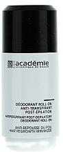 Perfumería y cosmética Desodorante roll-on antitranspirante post depilación - Academie Acad'Epil Deodorant Roll-on Specifique Post