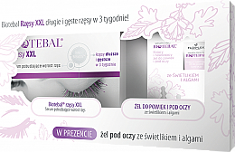 Perfumería y cosmética Set (sérum para pestañas/3ml + gel contorno de ojos y párpados/15ml) - Biotebal