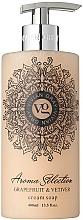 Perfumería y cosmética Jabón de manos líquido, aroma a pomelo y vetiver - Vivian Gray Aroma Selection Creme Soap Grapefruit & Vetiver