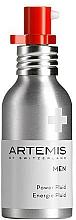 Perfumería y cosmética Fluido facial energizante, SPF15 - Artemis of Switzerland Men Power Fluid SPF 15