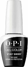 Perfumería y cosmética Top coat gel, LED - O.P.I. Gel Stay Shiny Top Coat