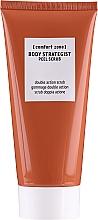 Perfumería y cosmética Exfoliante corporal de doble acción con partículas de sílice natural y piel de naranja - Comfort Zone Body Strategist Peel Scrub