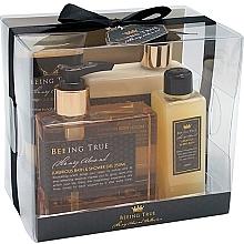 Perfumería y cosmética Set corporal - Beeing True (gel de ducha/250ml + loción/250ml + sales de baño/100ml + exfoliante/100ml)