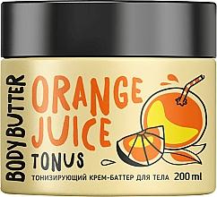 Perfumería y cosmética Crema manteca corporal tonificante, Naranja - MonoLove Bio Orange Juice Body Butter