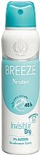 Perfumería y cosmética Desodorante spray sin alcohol - Breeze Deo Spray Neutro 48h