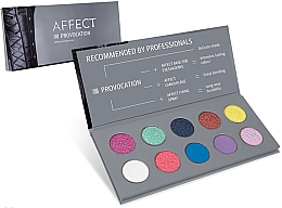Perfumería y cosmética Paleta de sombras de ojos - Affect Cosmetics Provocation Eyeshadow Palette