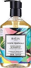 Perfumería y cosmética Jabón líquido para manos y cuerpo con aroma cítrico - Baija Sieste Tropicale Marseille Liquid Soap