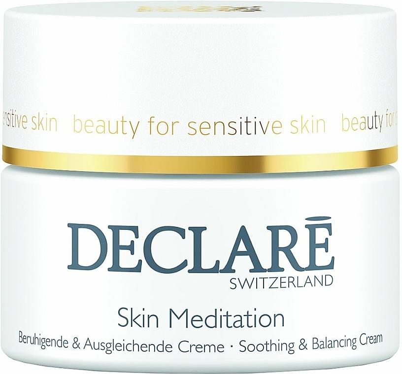Crema facial calmante y equilibrante con extracto de lino - Declare Skin Meditation Soothing & Balancing Cream — imagen N1