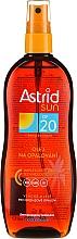 Aceite seco para bronceado SPF20 - Astrid Sun Suncare Spray Oil SPF20 — imagen N1