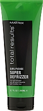 Perfumería y cosmética Gel para cabello rizado con proteínas de trigo y aceite de jojoba, fijación alta - Matrix Total Results Curl Super Definer