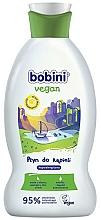 Perfumería y cosmética Espuma de baño infantil hipoalergénica con jugo de aloe vera y extracto de oliva - Bobini Vegan