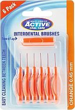 Perfumería y cosmética Cepillos interdentales color naranja 0,45 mm - Beauty Formulas Active Oral Care Interdental Brushes
