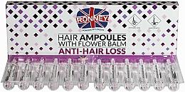 Perfumería y cosmética Ampollas anticaída capilar con aceite de eucalipto y ácido salicílico - Ronney Hair Ampoules With Flower Balm Anti-Hair Loss