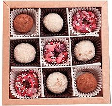 "Perfumería y cosmética Set bombas de baño, aroma a chocolate - Dushka ""Chocolate Magic Candies"""