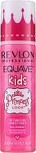 Perfumería y cosmética Spray acondicionador desenredante sin aclarado con proteínas de trigo, aroma a manzana - Revlon Professional Equave Kids Princess Look