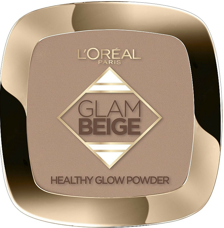 Polvo facial compcto - L'Oreal Paris Glam Beige Healthy Glow Powder — imagen N1
