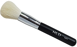 Perfumería y cosmética Brocha kabuki para maquillaje mineral en polvo, H01 - HLD