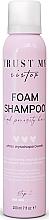 Perfumería y cosmética Champú espuma para cabello de porosidad alta con extracto de baobab - Trust My Sister High Porosity Hair Foam Shampoo