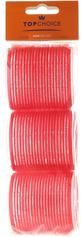 Rulos para cabello de velcro 60mm, 3uds, 0607 - Top Choice