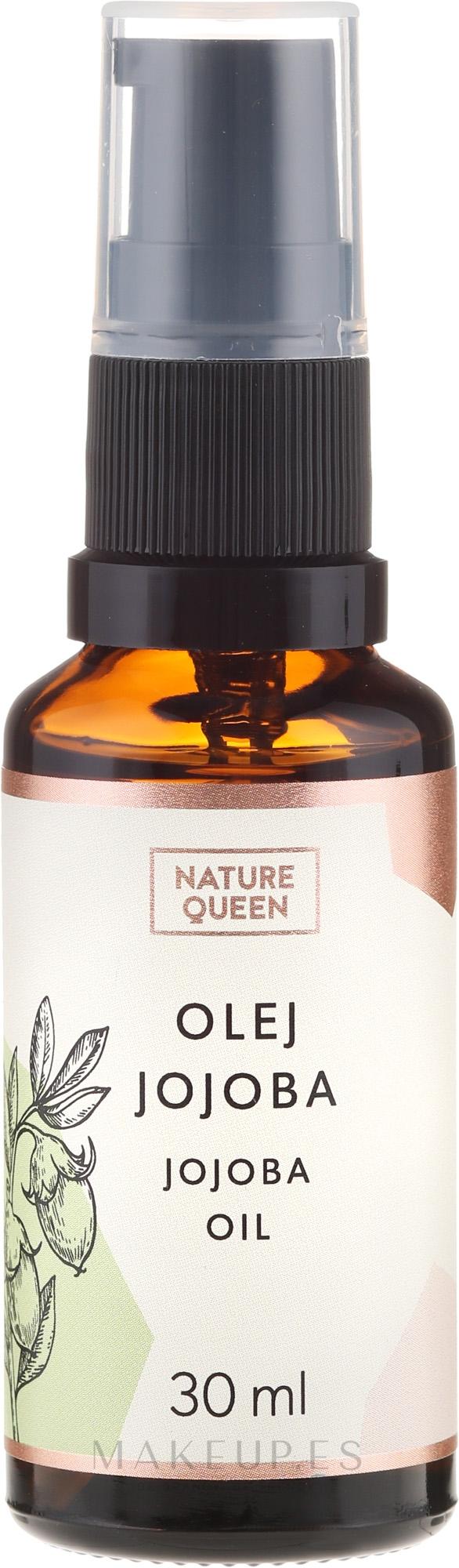 Aceite de jojoba - Nature Queen Jojoba Oil — imagen 30 ml