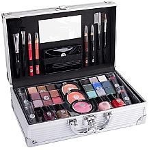 Perfumería y cosmética Maletín de maquillaje (26x16x8,5cm) - Cosmetic 2K Fabulous Beauty Train Case Complete Makeup Palette