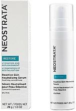 Perfumería y cosmética Sérum facial neutralizante con 6% PHA, extracto de sauce y algas - Neostrata Restore Reactive Skin Neutralizing Serum 6% PHA