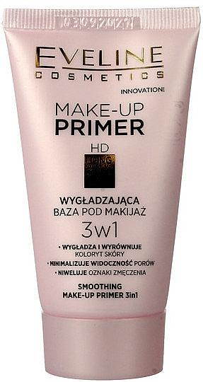 Prebase de maquillaje suavizante antipolución 3 en 1 - Eveline Cosmetics Smoothing Make-up Primer 3v1
