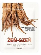 Perfumería y cosmética Mascarilla facial de tejido con extracto de ginseng - Conny Red Ginseng Essence Mask