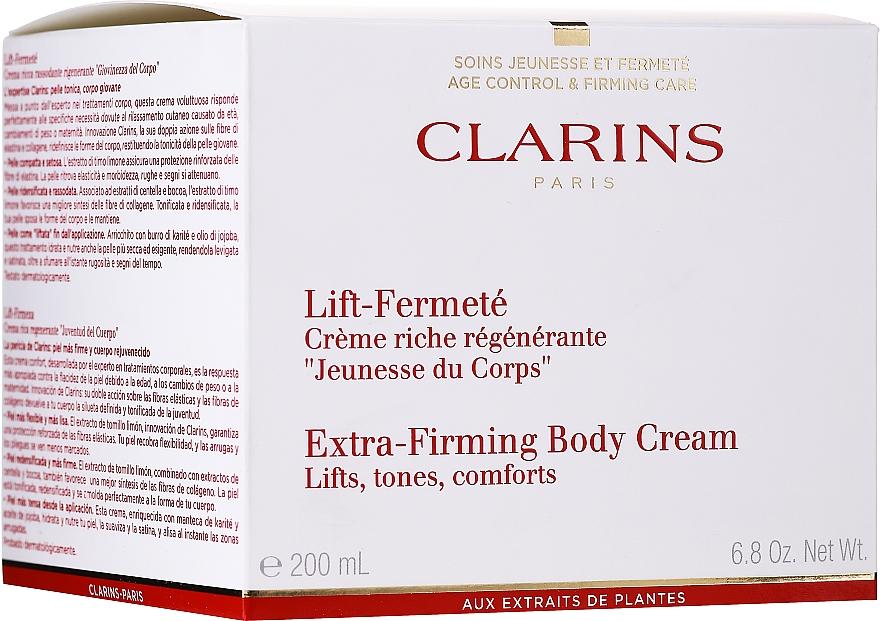 Crema corporal reparadora con aceite de jojoba - Clarins Extra-Firming Body Cream — imagen N2
