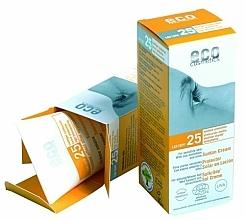 Perfumería y cosmética Crema protectora solar con extracto de granada y espino amarillo, SPF25 - Eco Cosmetics Suntan Cream SPF 25