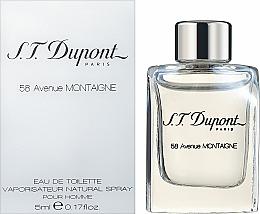 Perfumería y cosmética Dupont 58 Avenue Montaigne - Eau de toilette (mini)