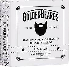 Perfumería y cosmética Bálsamo orgánico artesanal para barba con mantecas de karité, cacao y aceite de coco - Golden Beards Beard Balm Hygge