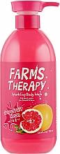 Perfumería y cosmética Gel de ducha con aroma a pomelo - Farms Therapy Sparkling Body Wash Grapefruit