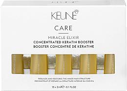 Perfumería y cosmética Booster reparador de cabello con queratina - Keune Care Miracle Elixir Concentrated Keratin Booster