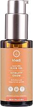 Perfumería y cosmética Aceite capilar natural revitalizante - Khadi Ayurvedic Vitality Grow Hair Oil