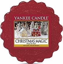 Perfumería y cosmética Cera aromática con extractos puros y naturales - Yankee Candle Christmas Magic Tarts Wax Melts