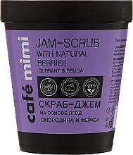 Perfumería y cosmética Exfoliante corporal con extractos de casis & feijoa - Cafe Mimi Jam-Scrub With Natural Berries
